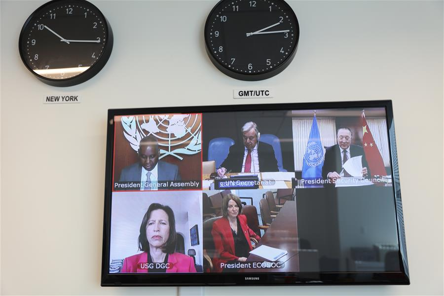 UN-SECURITY COUNCIL-VIRTUAL JOINT BRIEFING-COVID-19