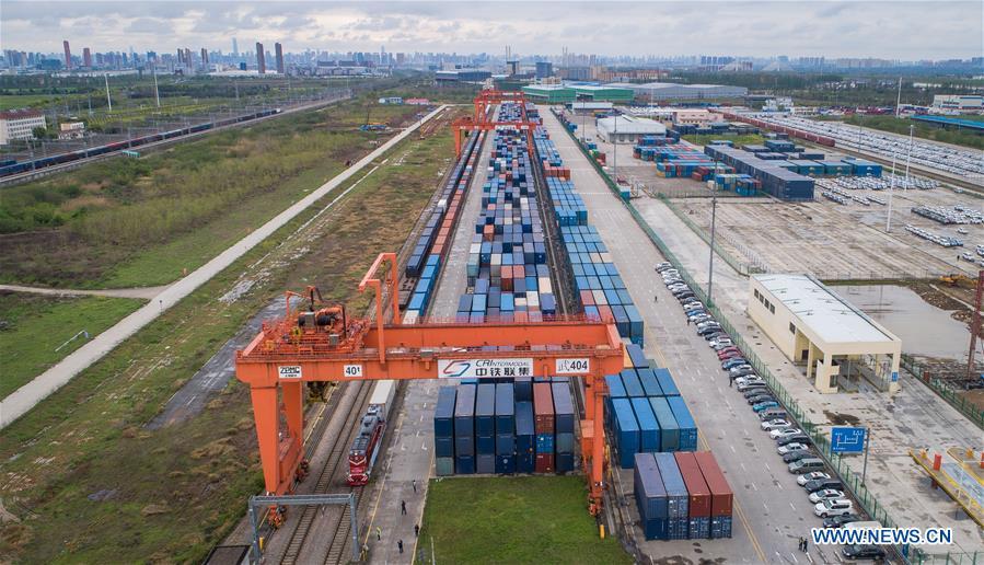 CHINA-WUHAN-EUROPE-FREIGHT TRAIN-REGULAR OPERATION-RESTORATION (CN)