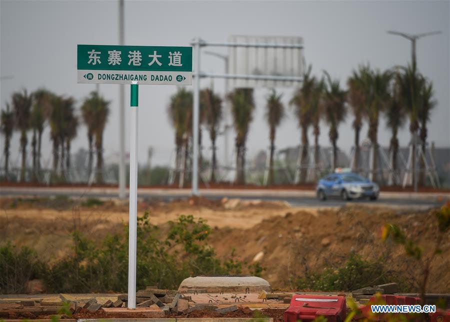 CHINA-HAINAN-HAIKOU-ROAD-COMPLETION (CN)