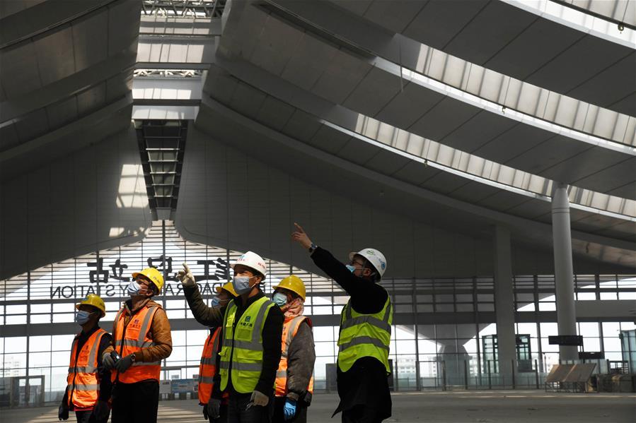 CHINA-QINGDAO-RAILWAY CONSTRUCTION-RESUMPTION (CN)