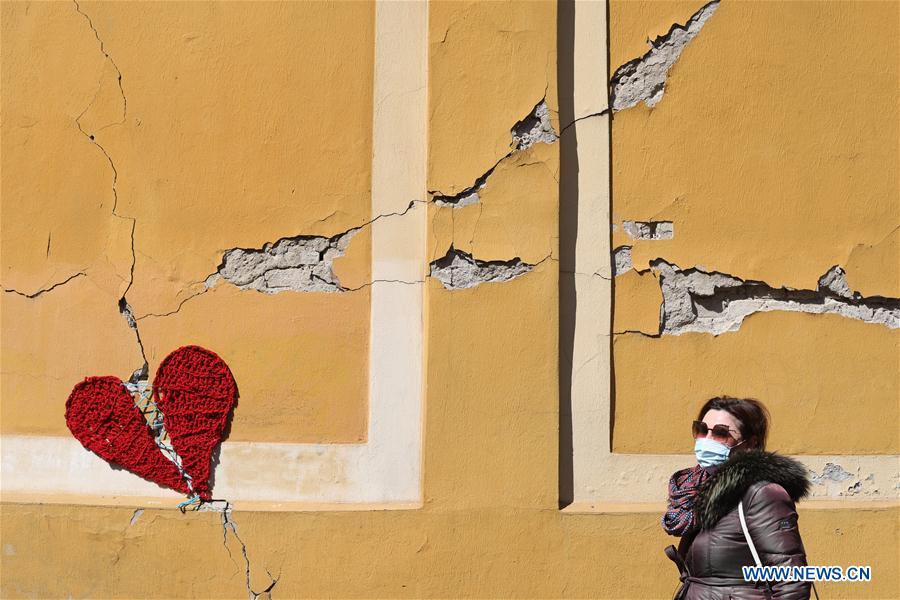 CROATIA-ZAGREB-EARTHQUAKES-AFTERMATH