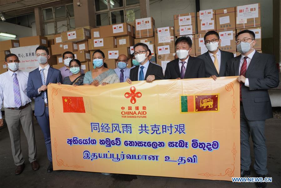 SRI LANKA-COLOMBO-CHINA-AID
