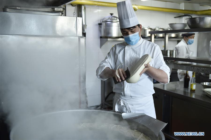 CHINA-SHANXI-GOURMET FOOD-MEDICAL STAFF (CN)