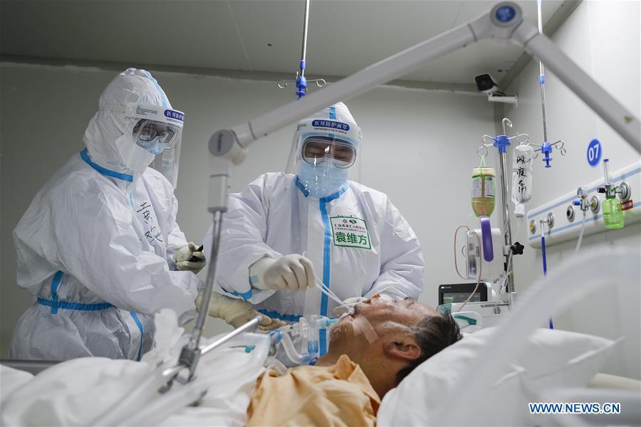 (FOCUS)CHINA-HUBEI-WUHAN-ICU NURSE-COVID-19 (CN)