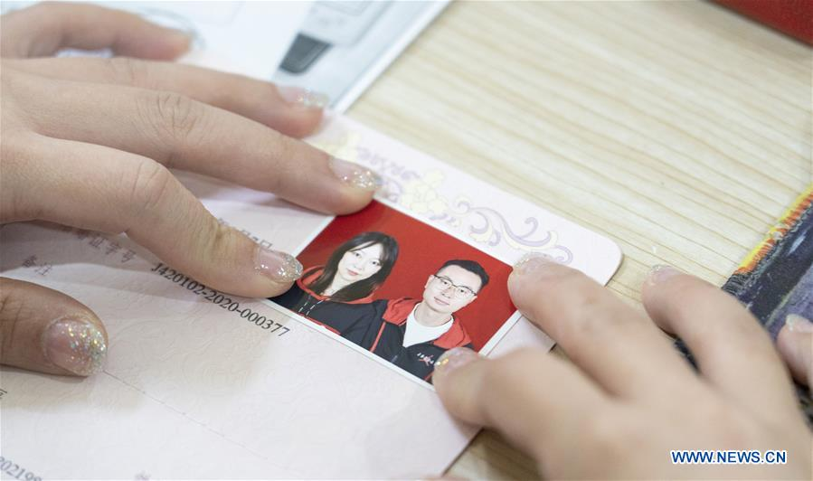Wuhan Resumes Marriage Registration Service for Citizens