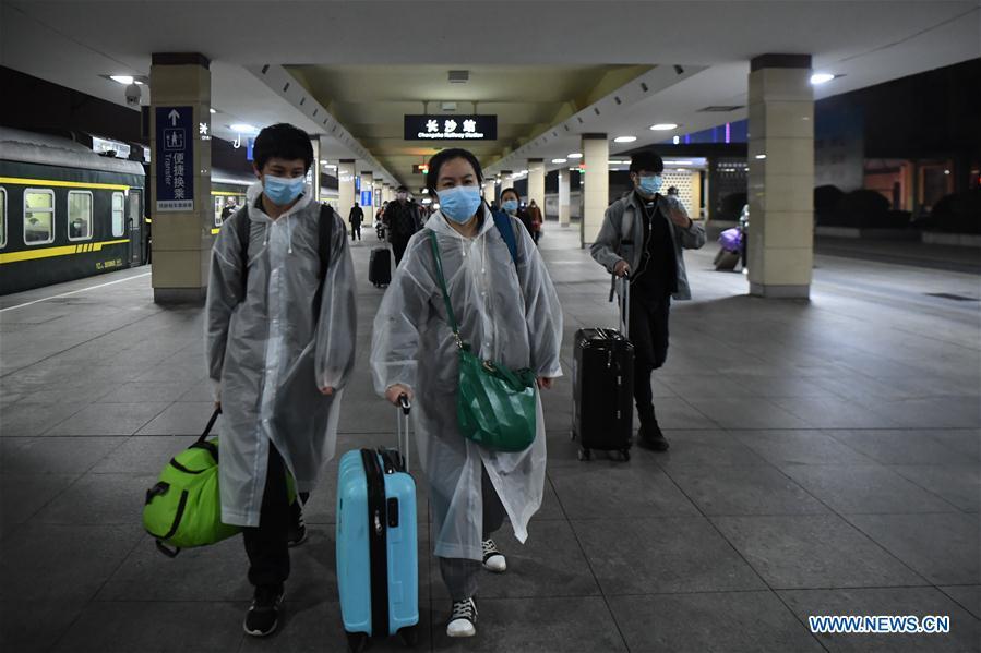 中国-长沙-武汉-火车到达(CN)