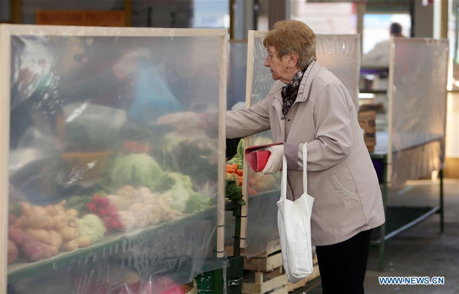 克罗地亚COVID-19-农民市场重新开放