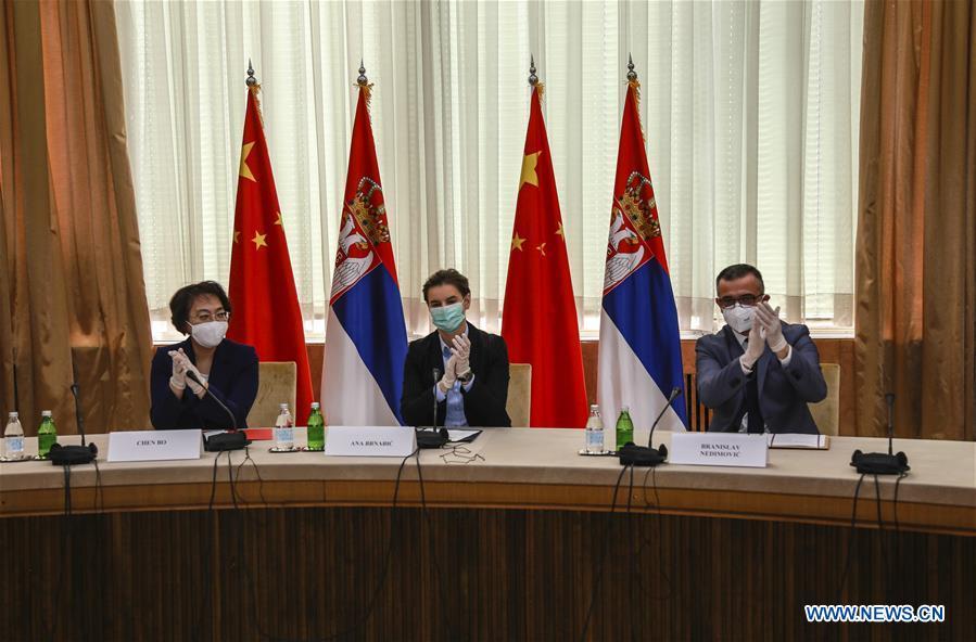 塞尔维亚-贝尔格莱德-中国的生物技术检测实验室开放