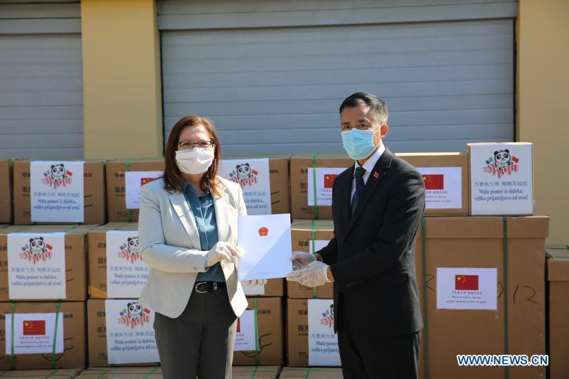 波斯尼亚和黑塞哥维那-萨拉热耶-中国-医疗设备捐赠