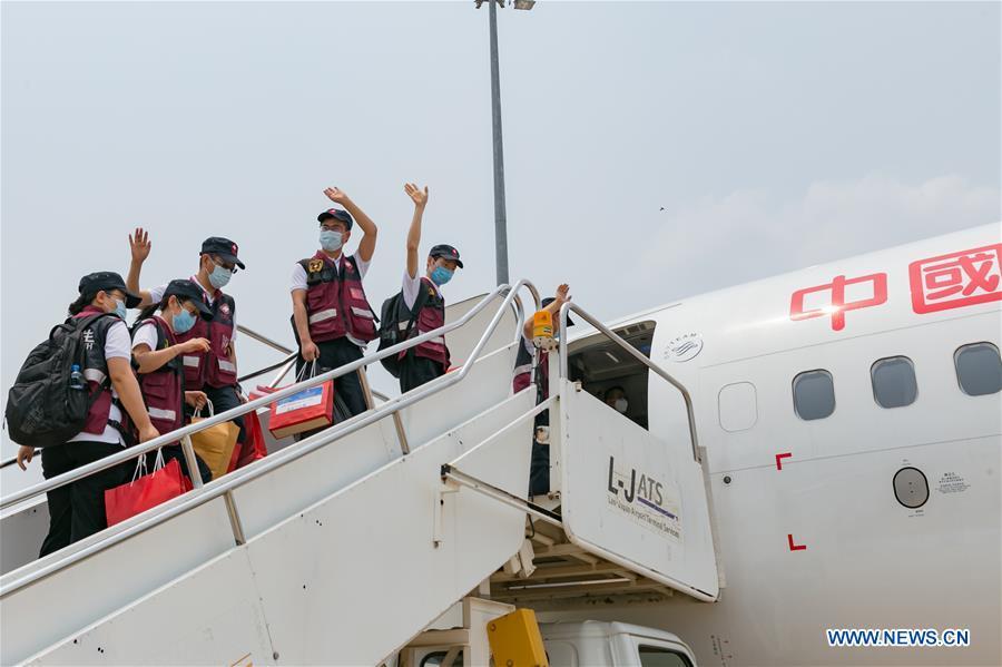 老挝-万象-中国-COVID-19合作