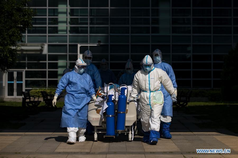 中国-湖北-武汉-COVID-19-北京-急救医疗队关闭(CN)