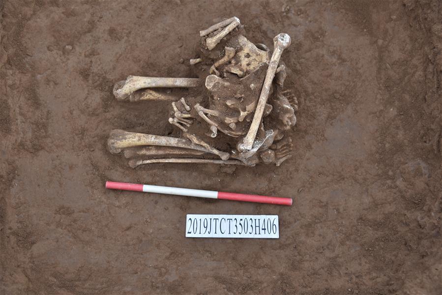 中国-河南-济源-商朝-骨骼-古代人类牺牲品(CN)