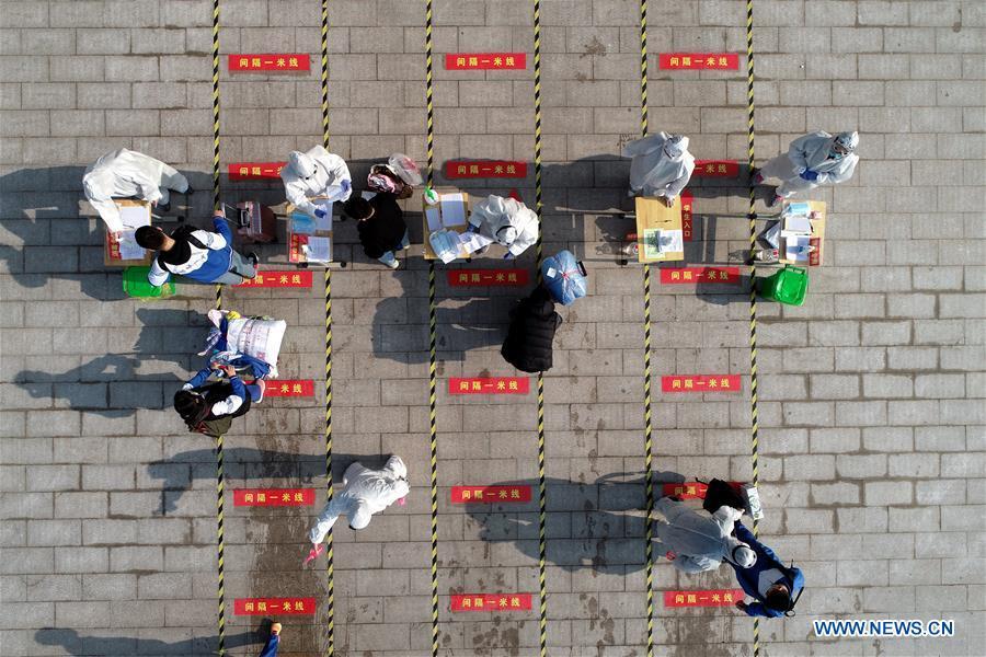 CHINA-SHANDONG-SCHOOLS-PARTIAL REOPENING (CN)