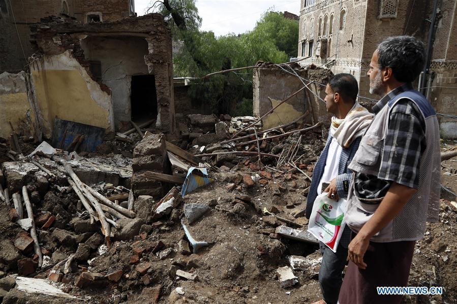 也门-萨那洪灾
