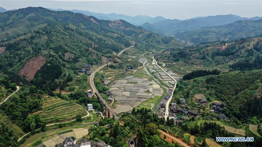 CHINA-GUANGXI-SANJIANG-SPRING SCENERY (CN)