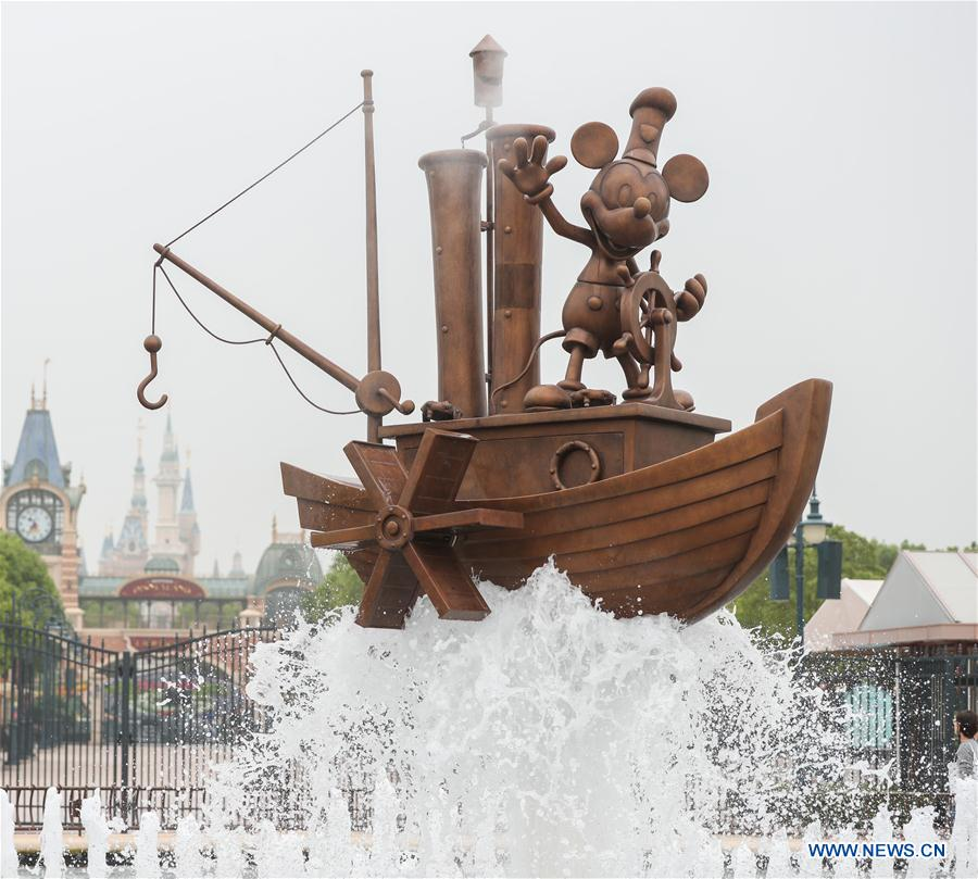 CHINA-SHANGHAI-DISNEYLAND-REOPENING (CN)