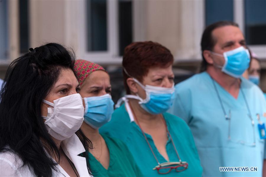 希腊雅典国际护士节