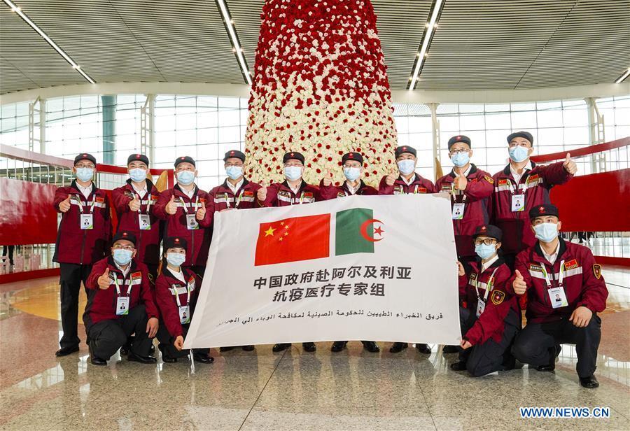 CHINA-CHONGQING-COVID-19-MEDICAL TEAM-ALGERIA-SUPPORT (CN)