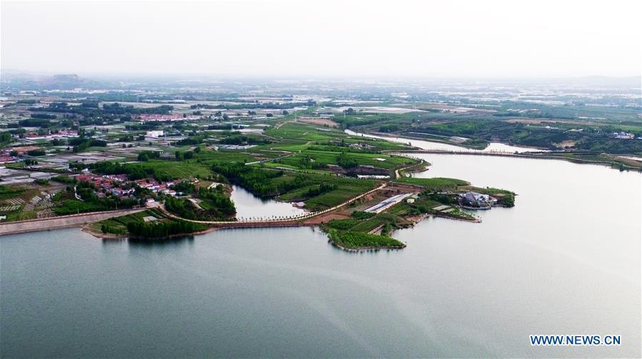 CHINA-SHANDONG-JUXIAN-RESERVOIR-SCENERY (CN)