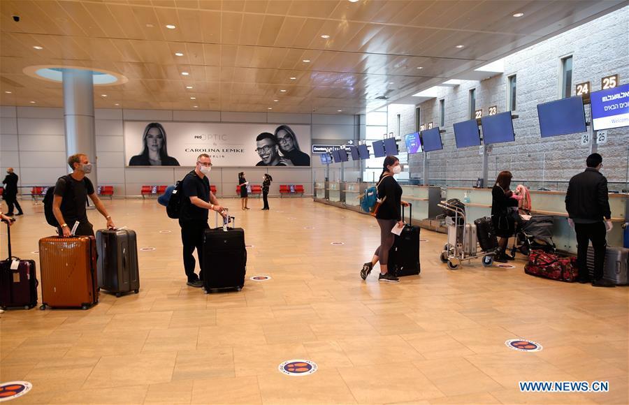 以色列本古里安机场-COVID-19-措施