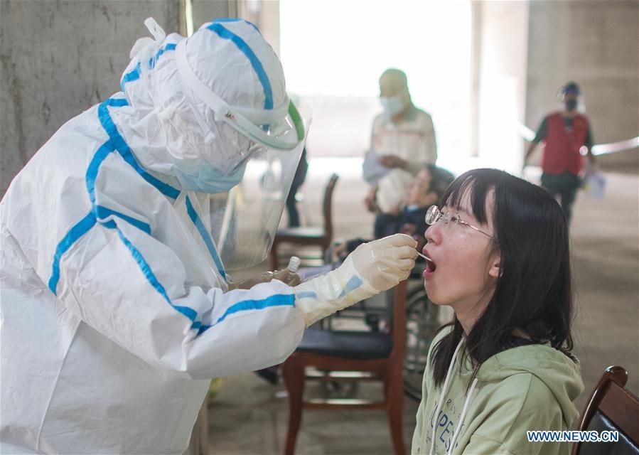 中国-武汉核酸测试(CN)
