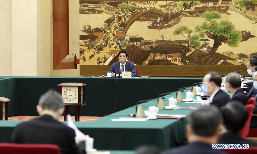 China's Top Legislature Proposes to Adjust Agenda of Standing Committee Session