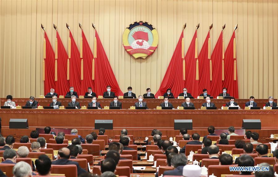 CHINA-BEIJING-CPPCC-WANG YANG-MEETING (CN)