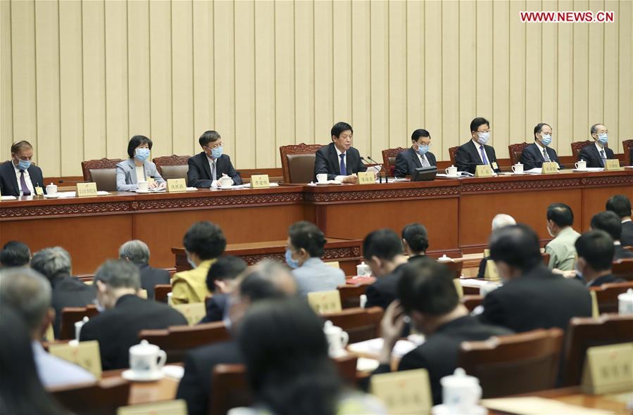 中国-北京-李察湖-全国人民代表大会闭幕会议(CN)