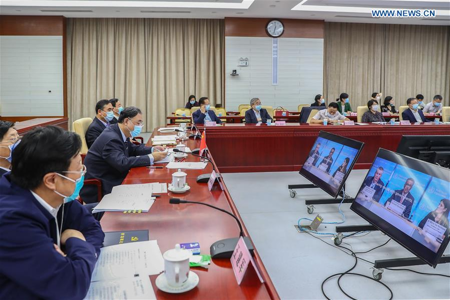 CHINA-BEIJING-WHA-VIRTUAL CONFERENCE (CN)