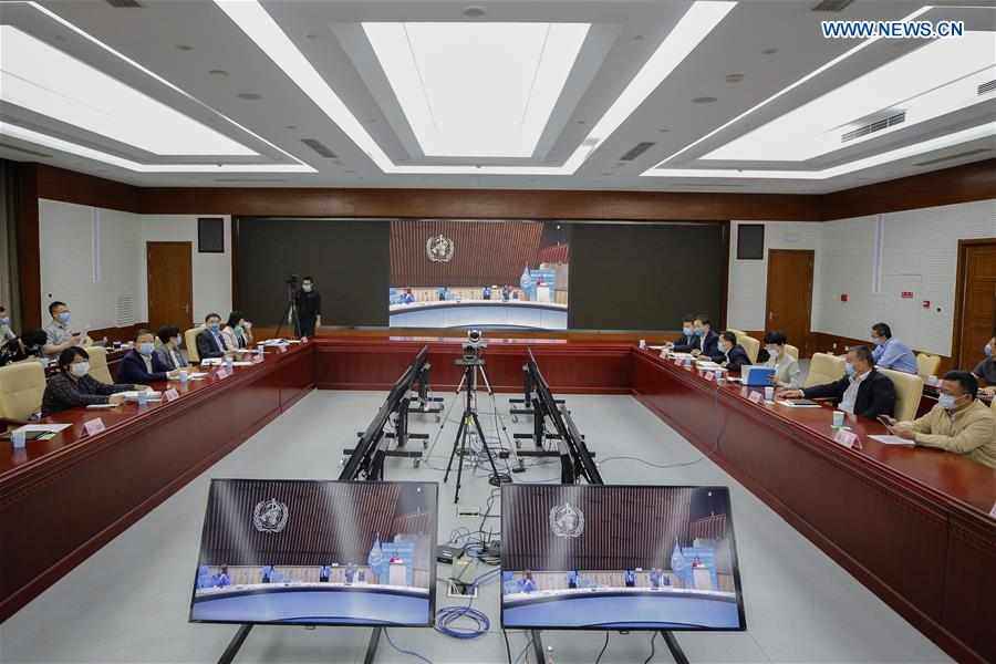 CHINA-BEIJING-WHA-VIRTUAL CONFERENCE (CN)