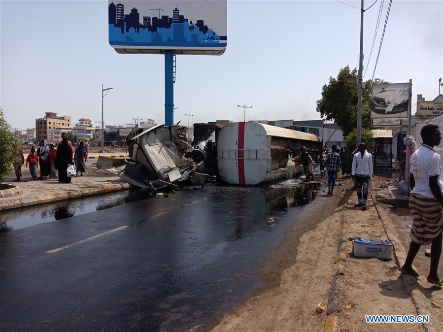 也门-阿丁汽车碰撞