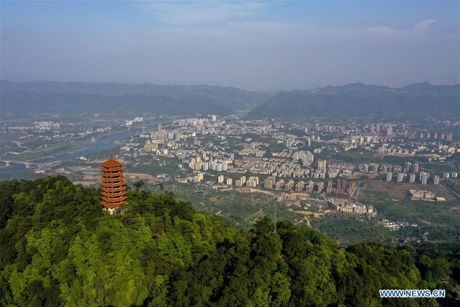 中国-重庆-金云山-夏季风景区(CN)