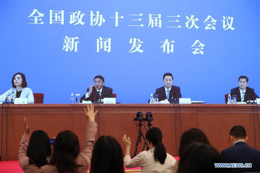 (TWO SESSIONS) CHINA-BEIJING-CPPCC-PRESS CONFERENCE (CN)