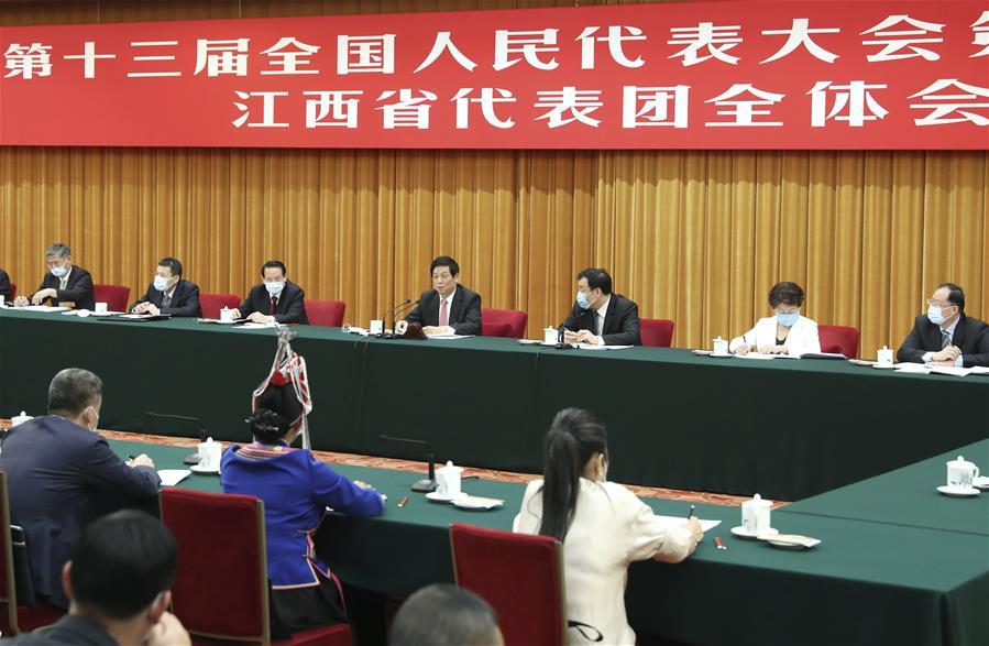 (TWO SESSIONS)CHINA-BEIJING-LI ZHANSHU-NPC-DELIBERATION (CN)