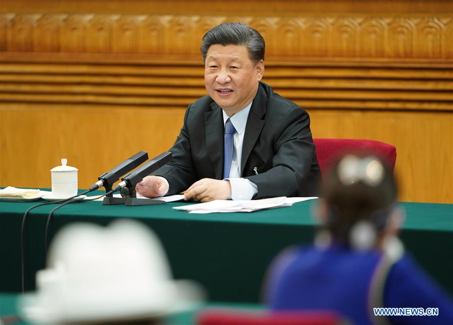 (TWO SESSIONS)CHINA-BEIJING-XI JINPING-NPC-DELIBERATION (CN)