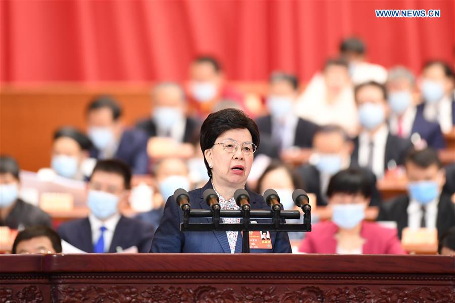 (TWO SESSIONS)CHINA-BEIJING-CPPCC-ANNUAL SESSION-SECOND PLENARY MEETING (CN)