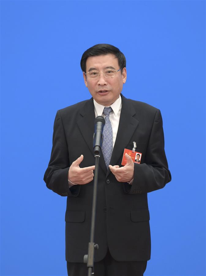 Ministers Receive Interview After Second Plenary Meeting of Third Session of 13th NPC