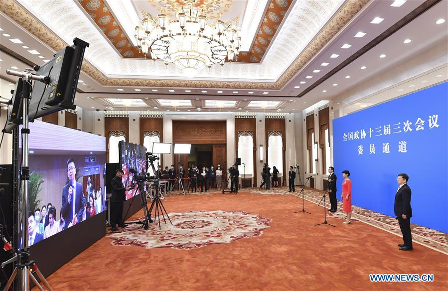 (TWO SESSIONS)CHINA-BEIJING-CPPCC-MEMBERS-INTERVIEW (CN)