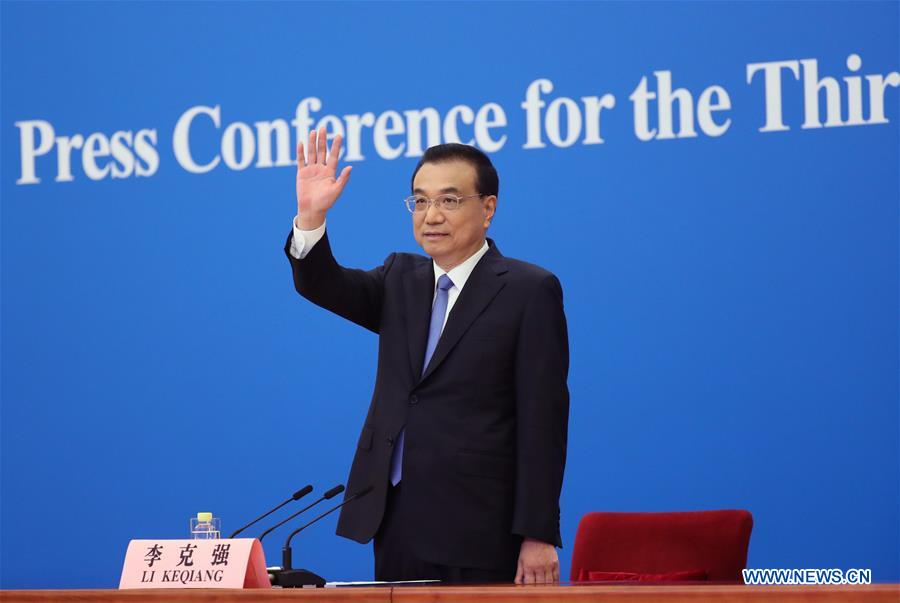 (TWO SESSIONS)CHINA-BEIJING-PREMIER-PRESS CONFERENCE (CN)