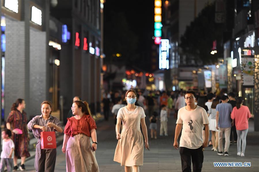 中国-浙江-湖州-商业街之夜(CN)