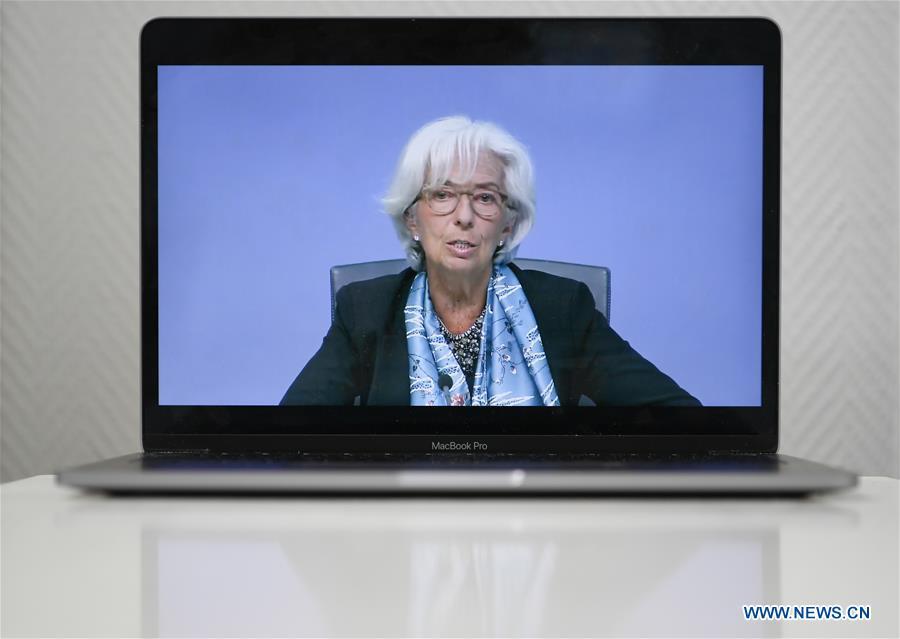 德国-法兰克福-欧洲央行新闻发布会