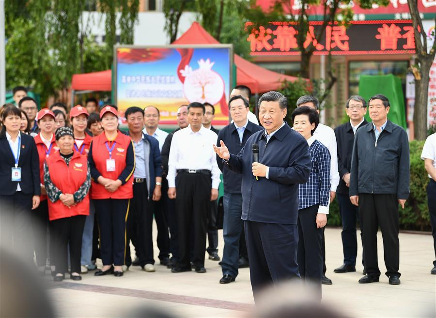 CHINA-NINGXIA-XI JINPING-INSPECTION (CN)