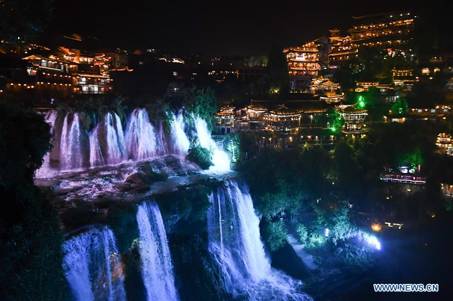 CHINA-HUNAN-XIANGXI-NIGHT VIEW (CN)