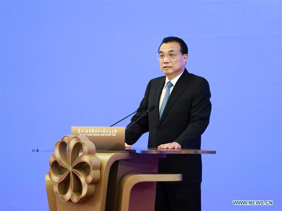 CHINA-BEIJING-LI KEQIANG-CANTON FAIR-VIRTUAL OPENING CEREMONY (CN)