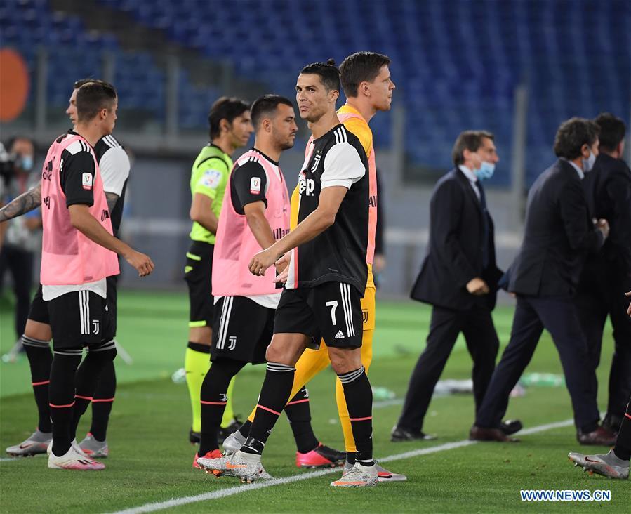 Italian Cup Final Napoli Vs Juventus Xinhua English News Cn