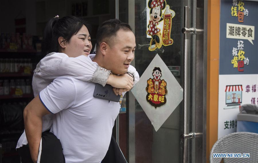 中国-陕西-安康-消除贫困-桃园(CN)