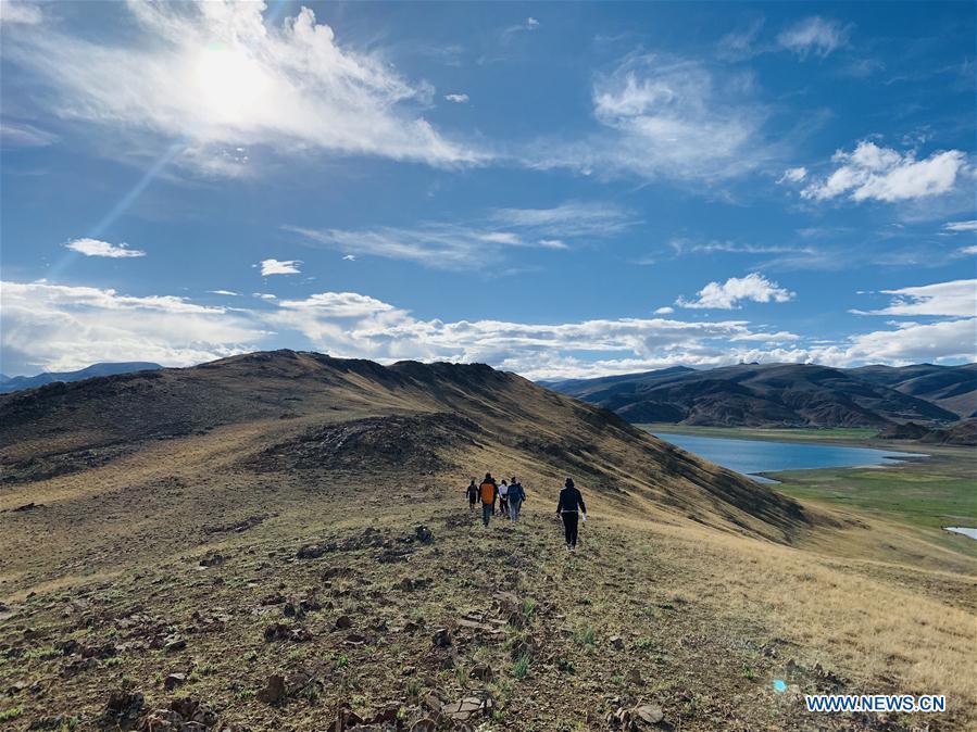 CHINA-TIBET-COVID-19-YAMZBOG YUMCO-TOURISM(CN)