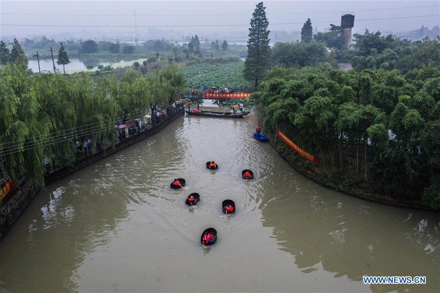 中国-浙江-湖州-龙舟喜庆传统(CN)
