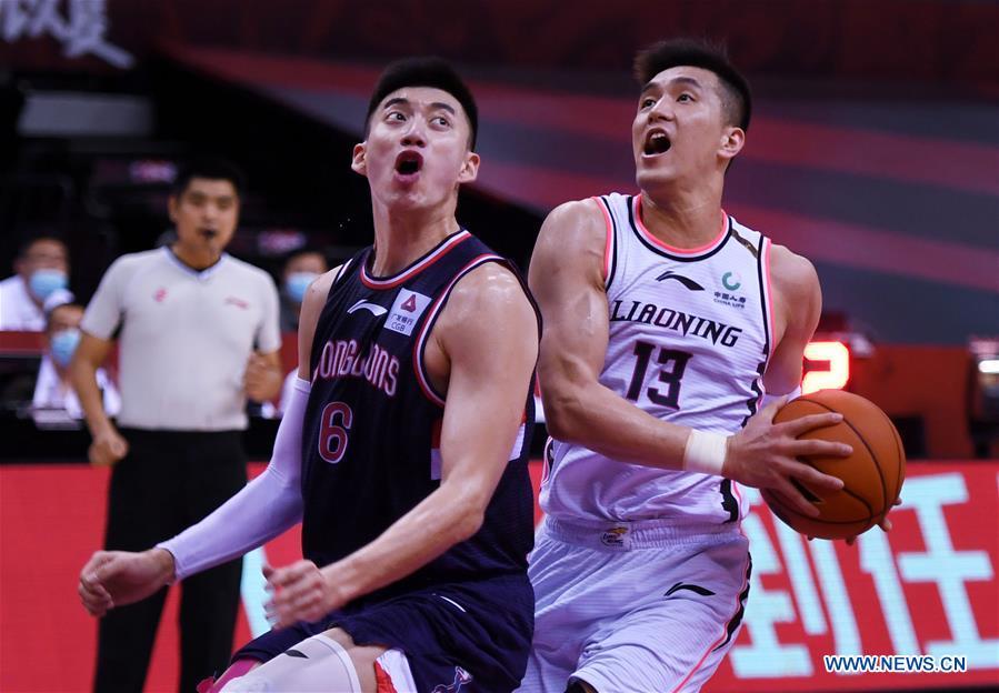 (SP)中国-青岛-篮球-CBA联赛-广州VS辽宁