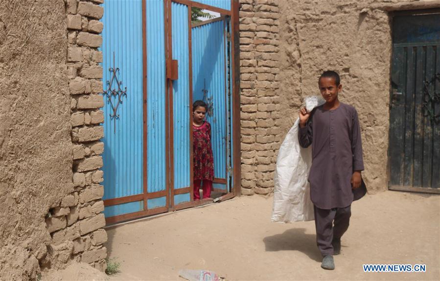阿富汗街头儿童环境保护